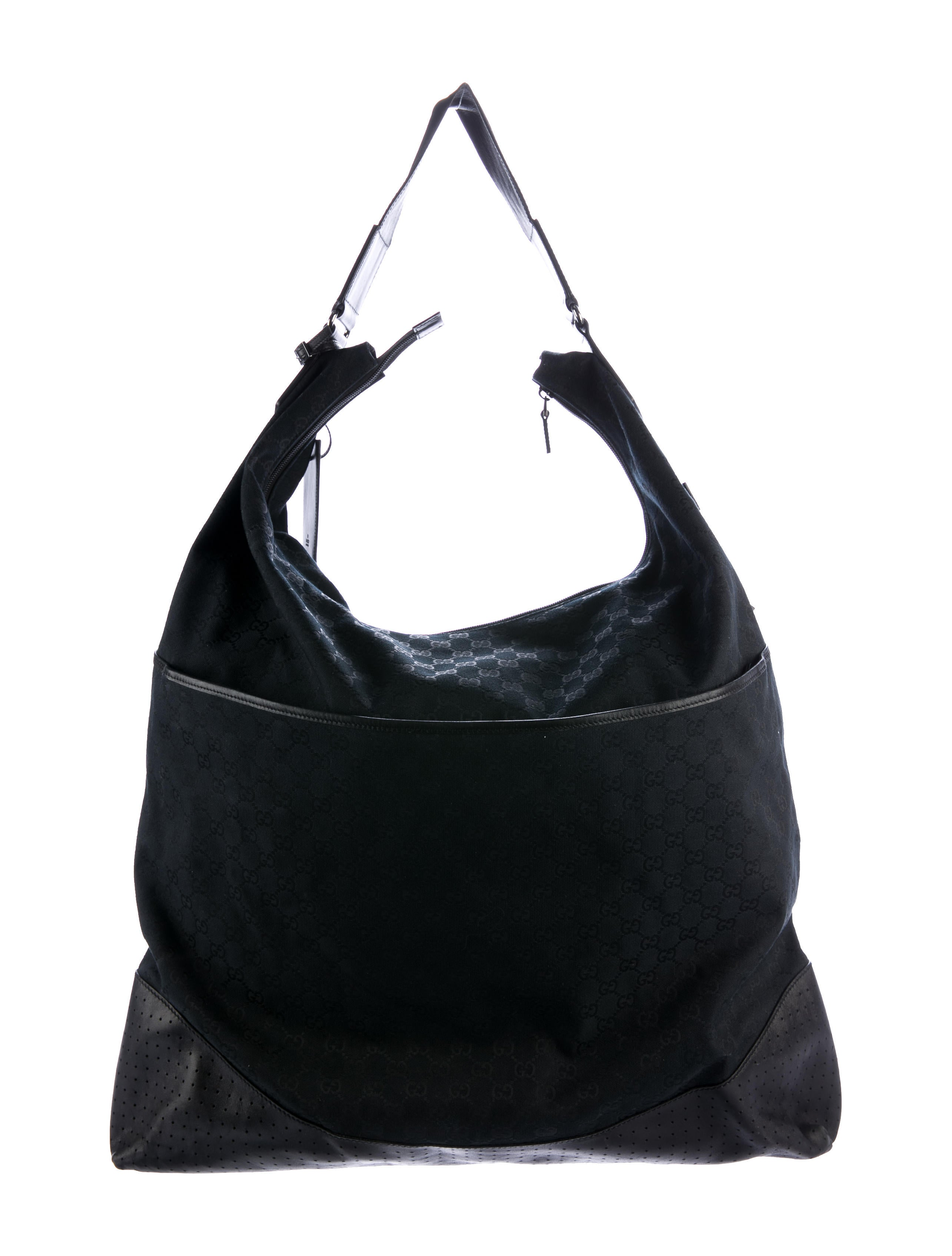 gucci gg canvas garment bag bags guc156389 the realreal