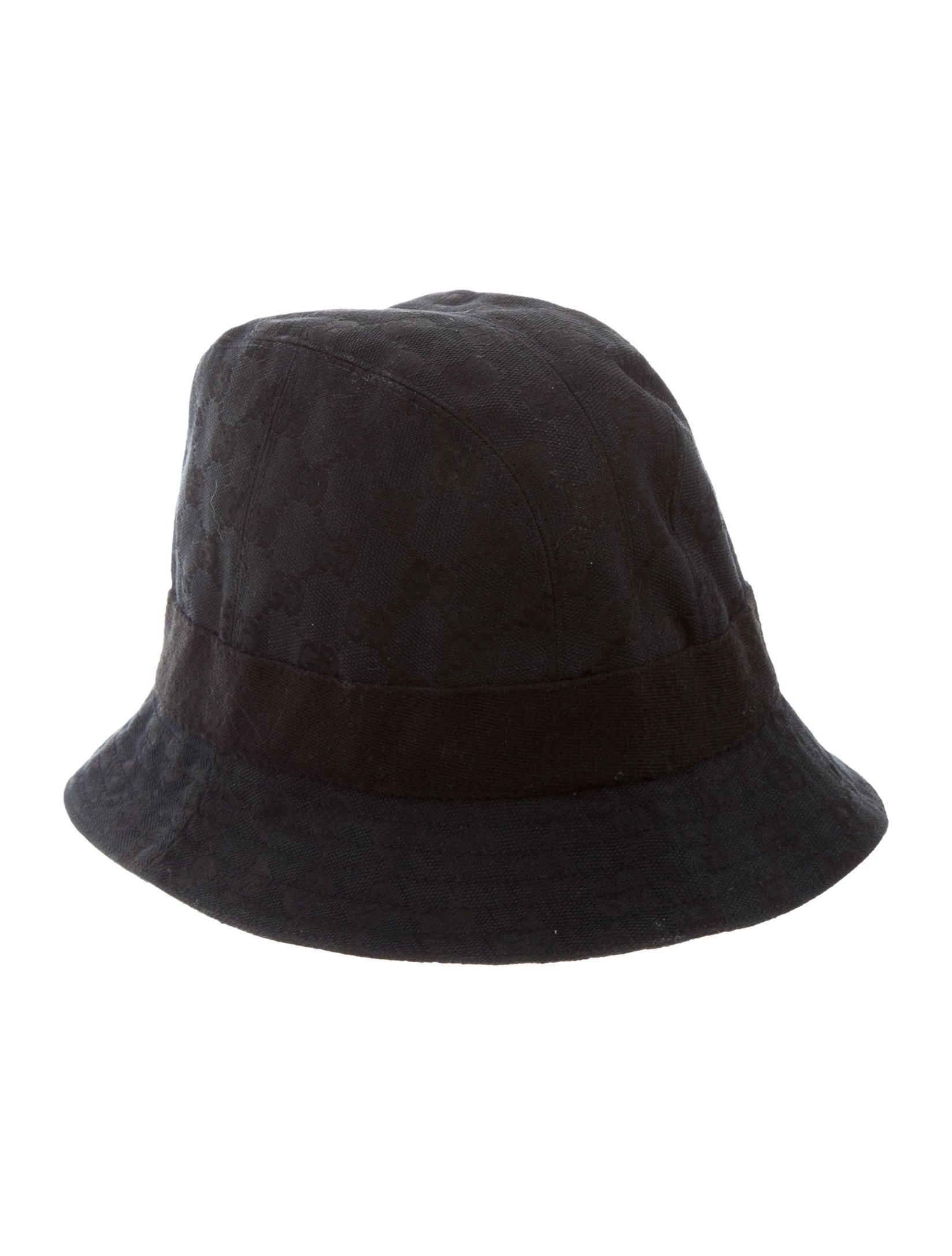 Gucci GG Canvas Bucket Hat - Accessories - GUC156443  d90943db31a