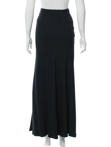 gucci flared midi skirt clothing guc156681 the realreal