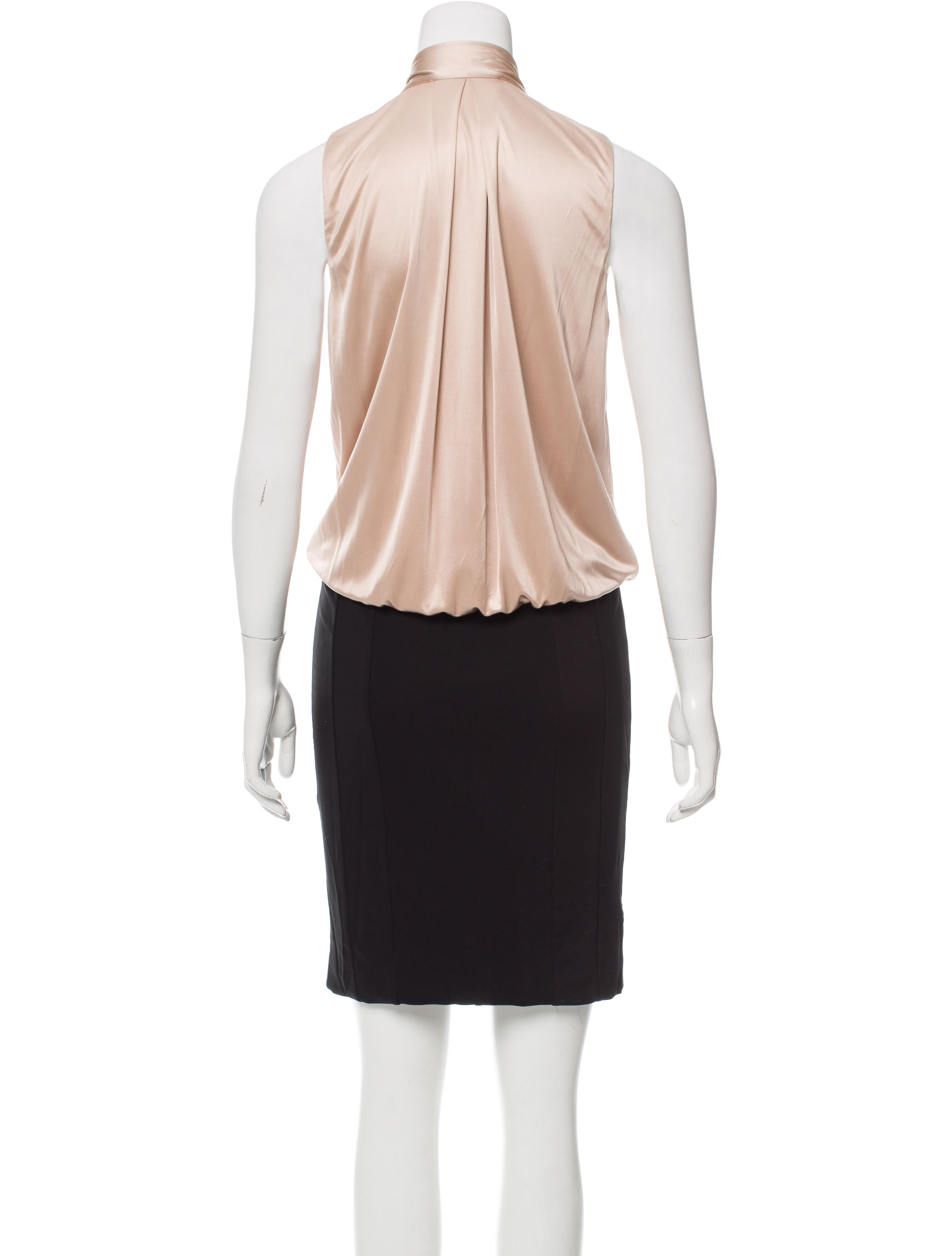 Gucci Tie-Neck Cocktail Dress - Clothing - GUC156918 | The RealReal