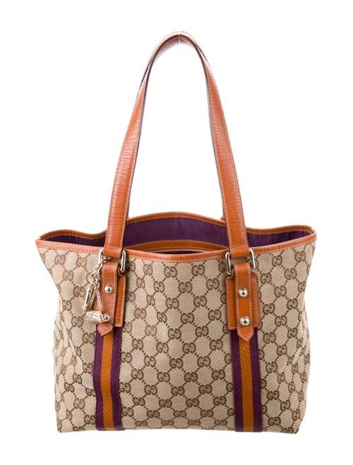 747b85ef320f Gucci Small GG Jolicoeur Tote - Handbags - GUC156934 | The RealReal