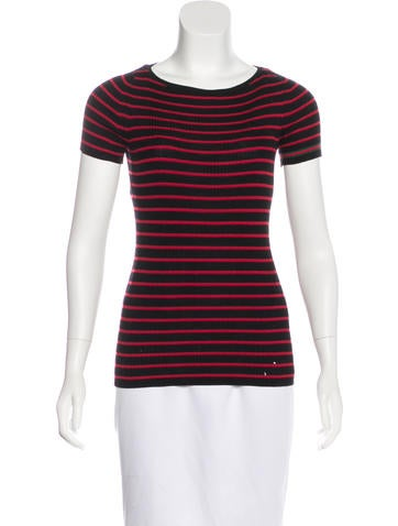 Gucci Striped Wool Top None