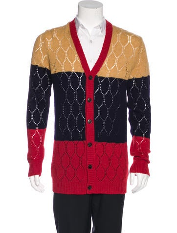 Gucci 2016 Wool Cardigan None