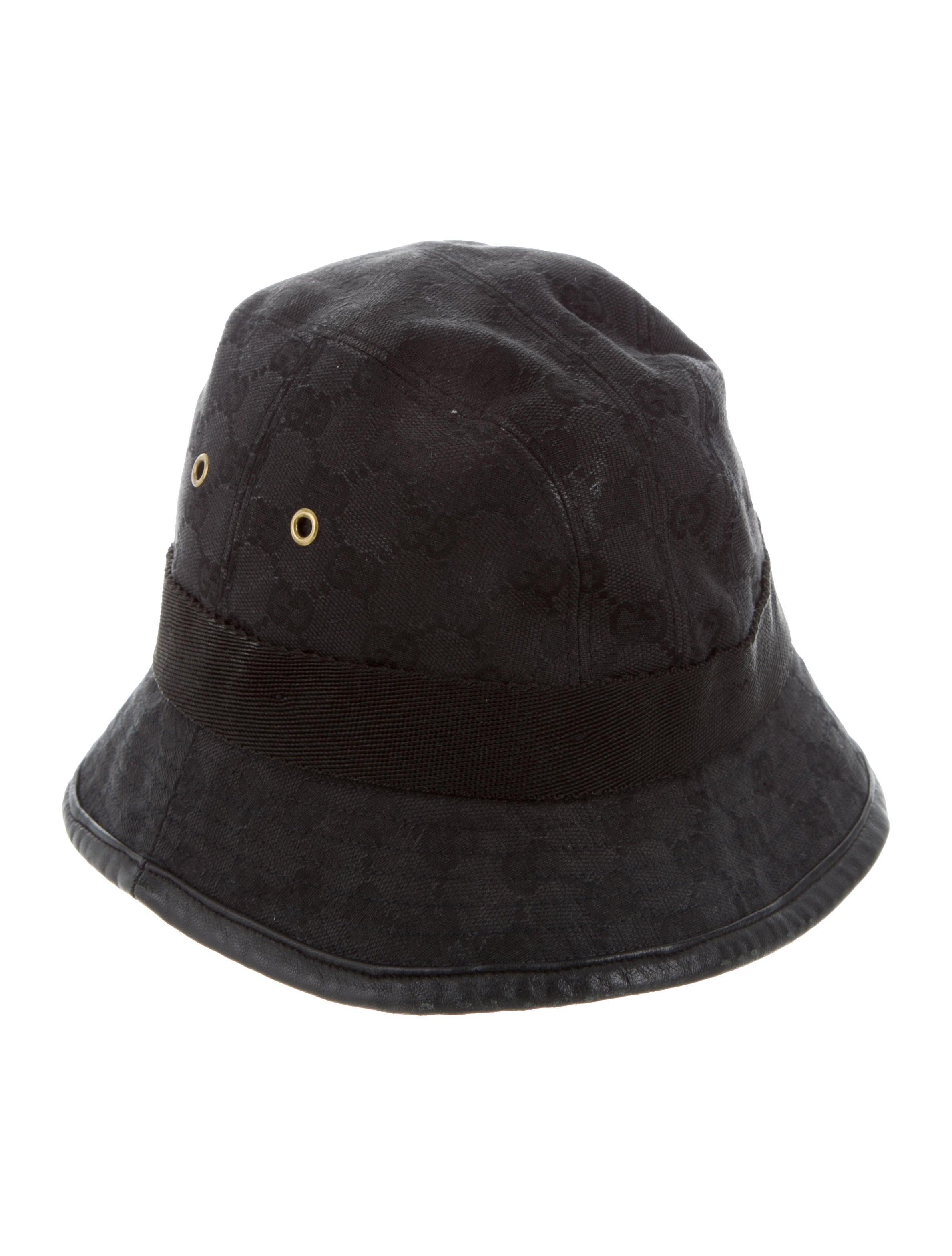Gucci Gg Supreme Bucket Hat Accessories Guc157066