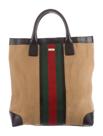3fb5a080d9da7b Gucci Vintage Web Tote Bags | Stanford Center for Opportunity Policy ...