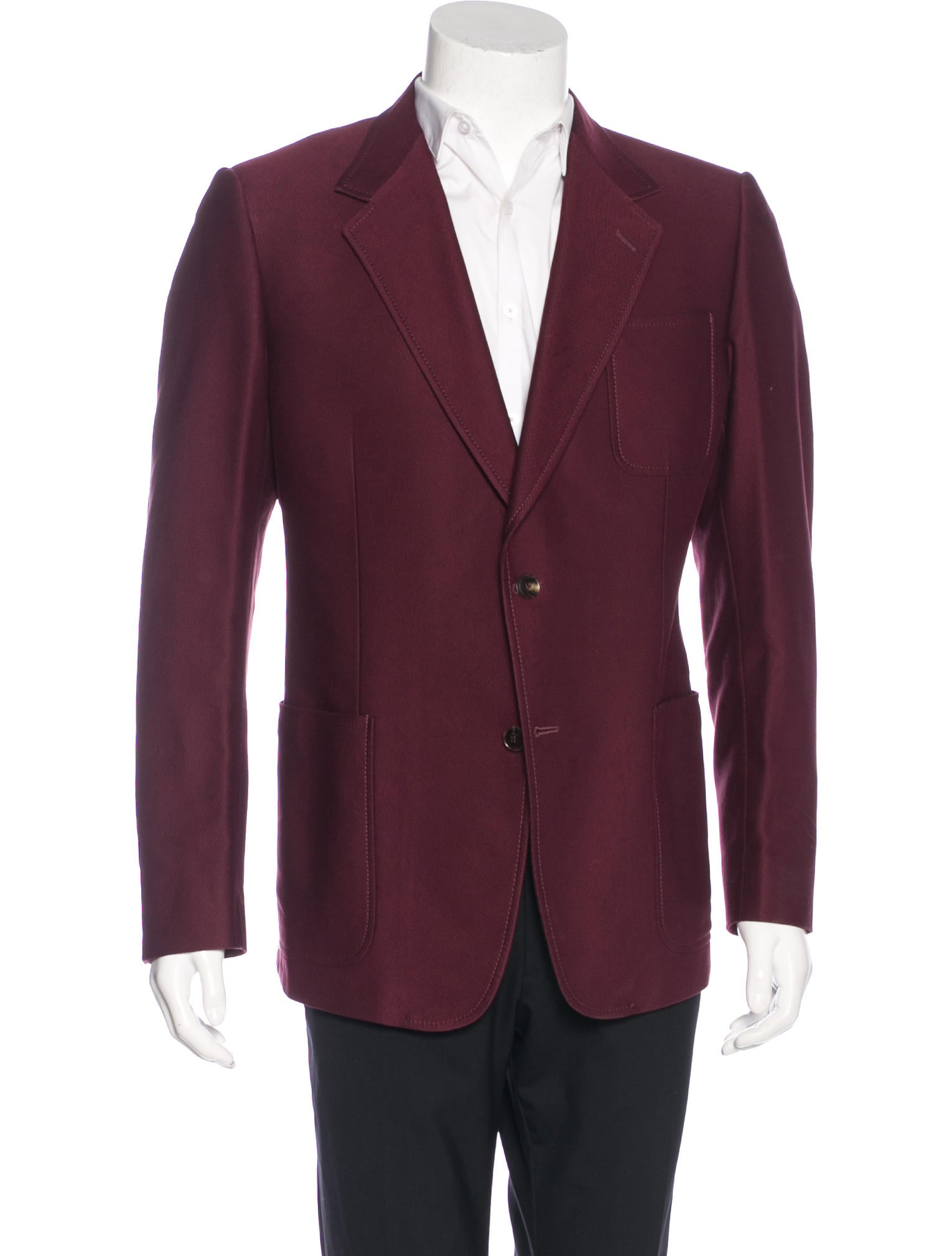 Gucci Two-Button Sport Coat - Clothing - GUC157758 | The RealReal