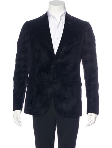 Gucci Velvet Sport Coat w/ Tags - Clothing - GUC157841 | The RealReal