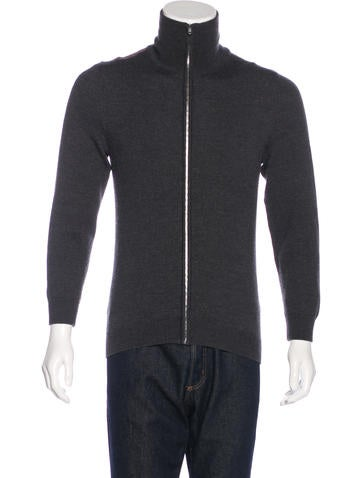 Gucci Wool Zip Sweater None