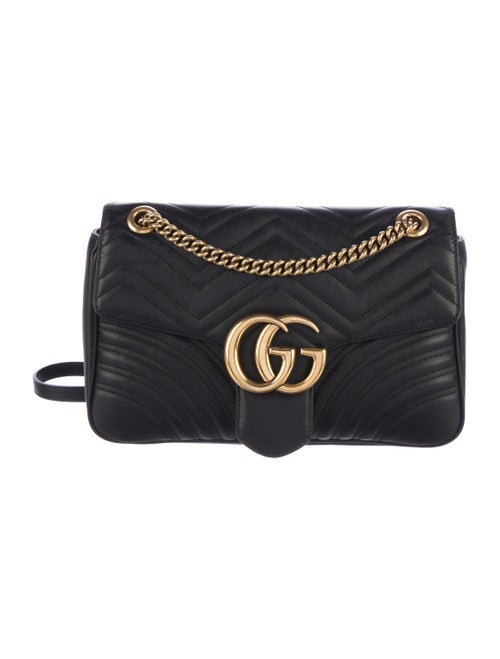 b7d99d47c11b Gucci 2017 GG Marmont Matelassé Medium Shoulder Bag - Handbags ...