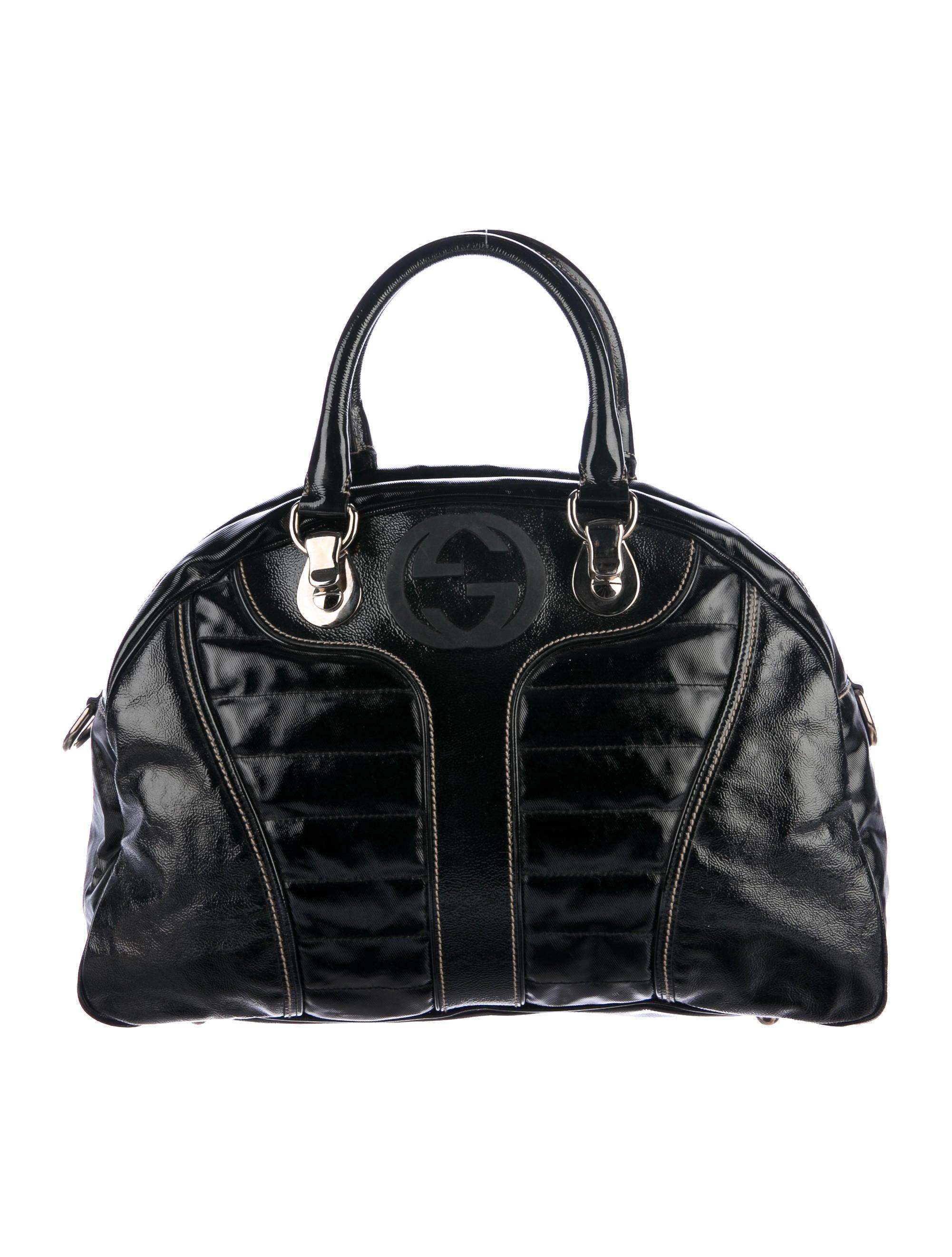 Boston Bag Patchwork Tutorial: Gucci Snow Glam Boston Bag - Handbags - GUC159154