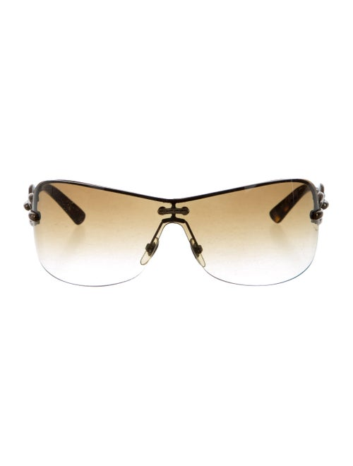 f2bc785d735 Gucci Rimless Chain-Link Sunglasses - Accessories - GUC159374