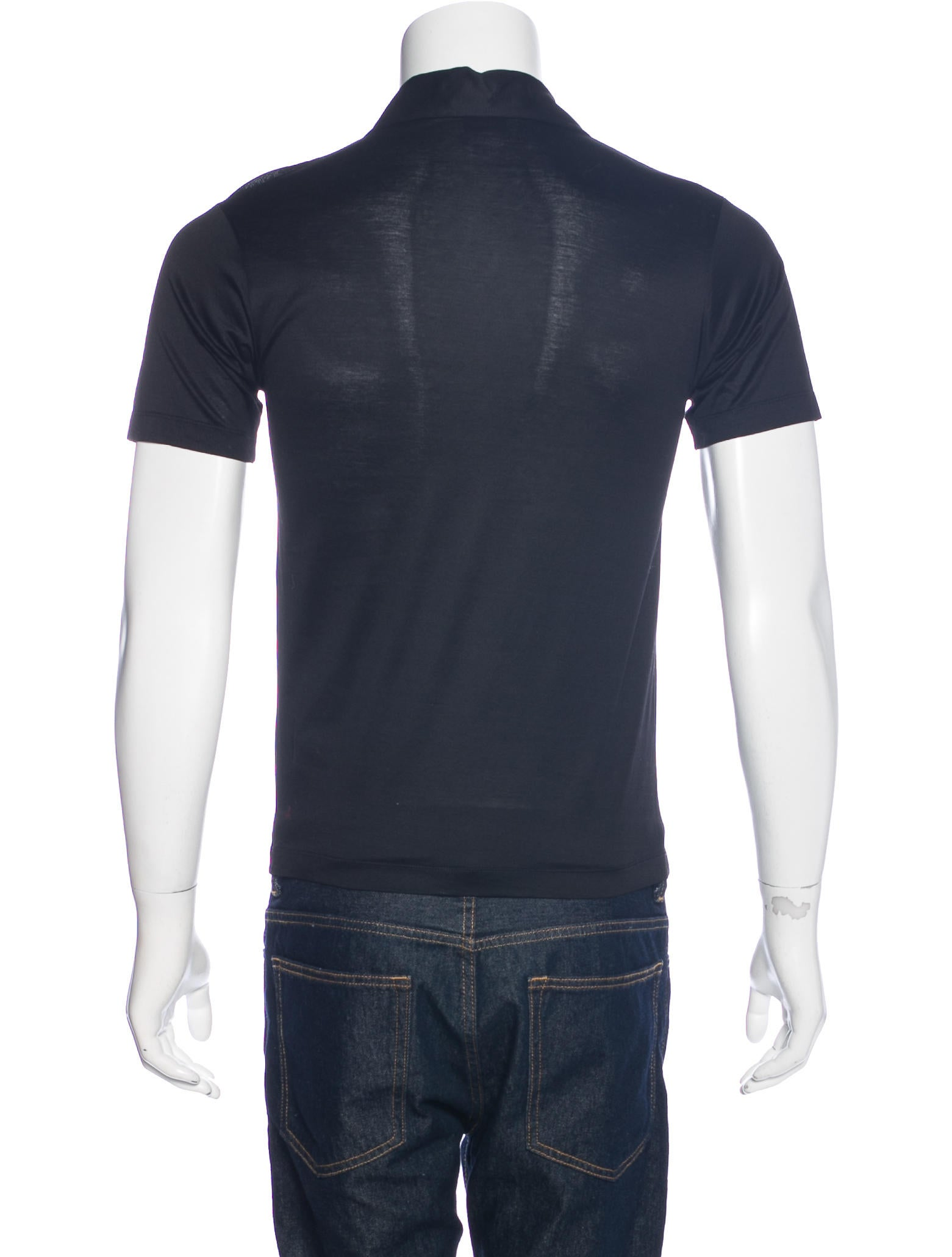 Gucci Jersey Knit Polo Shirt Clothing Guc159559 The