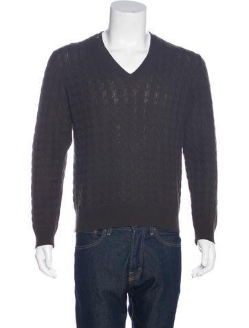 Gucci Cashmere Cable Knit Sweater None