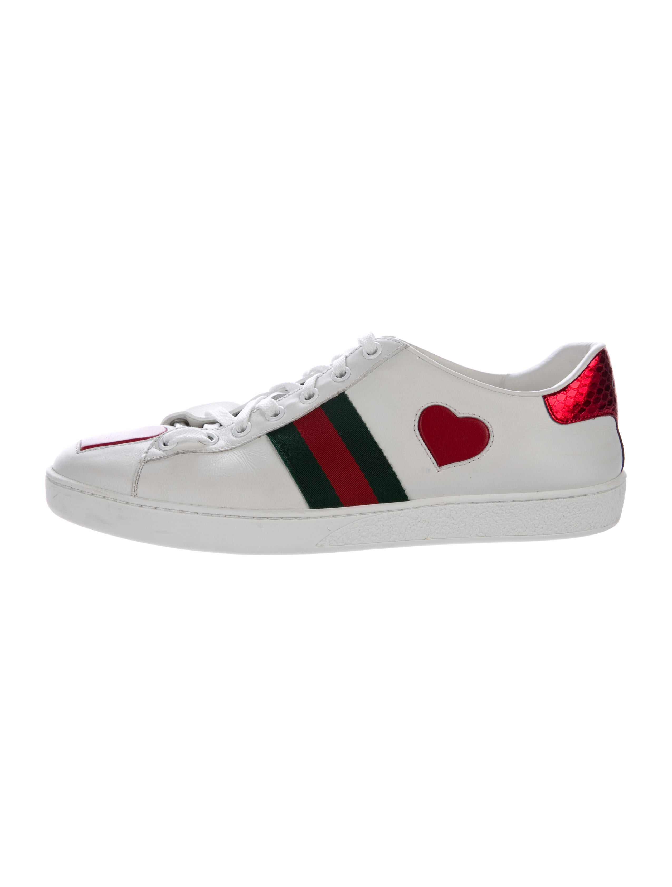 Gucci 2017 Ace Heart Sneakers Shoes Guc159825 The