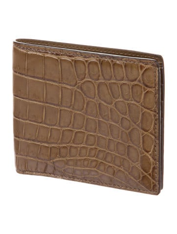 df1af4e4896625 Mens Used Gucci Crocodile Wallet | Stanford Center for Opportunity ...