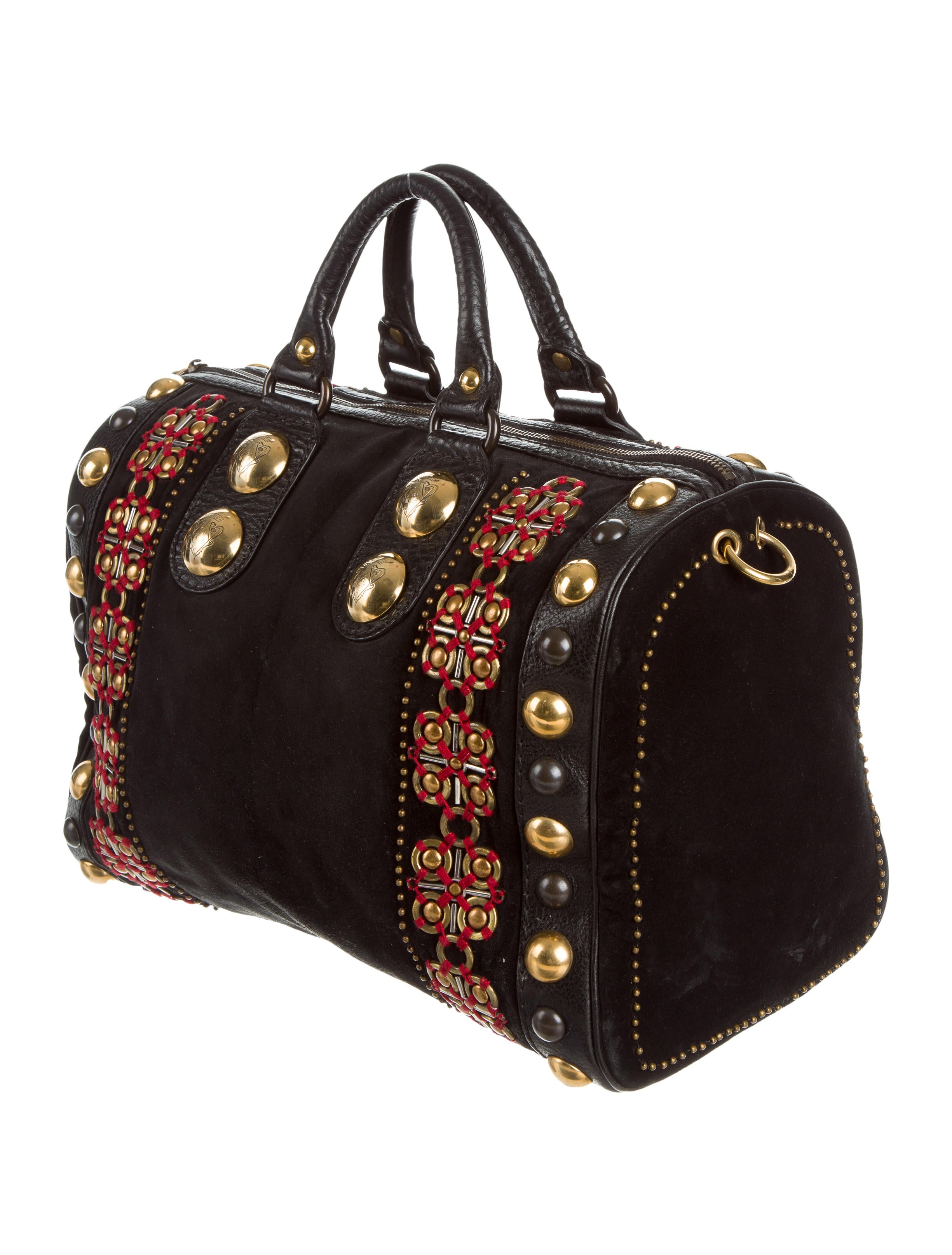 Boston Bag Patchwork Tutorial: Gucci Large Babouska Boston Bag