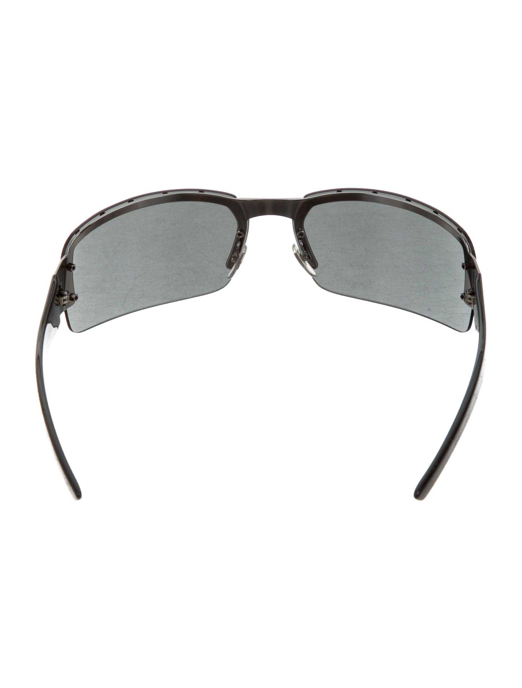 84d296782cf Gucci Rimless Shield Sunglasses Mens « One More Soul