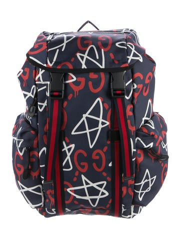 2be6337d682058 Gucci 2016 GucciGhost Backpack - Bags - GUC161215 | The RealReal