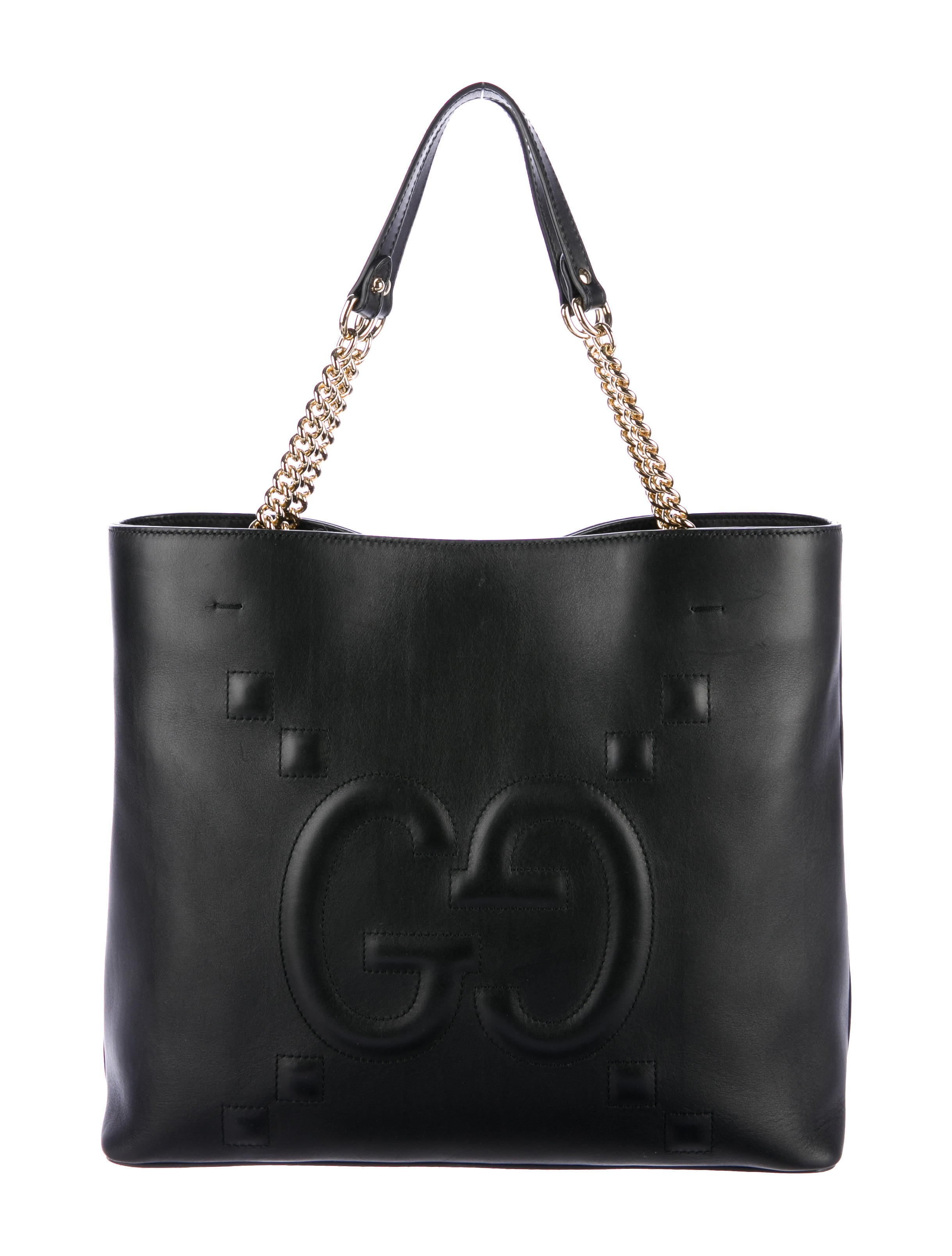 95c7e4190593 Gucci Embossed Leather Tote Bags | Stanford Center for Opportunity ...