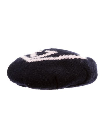 Gucci Girls' GG Wool Beret None