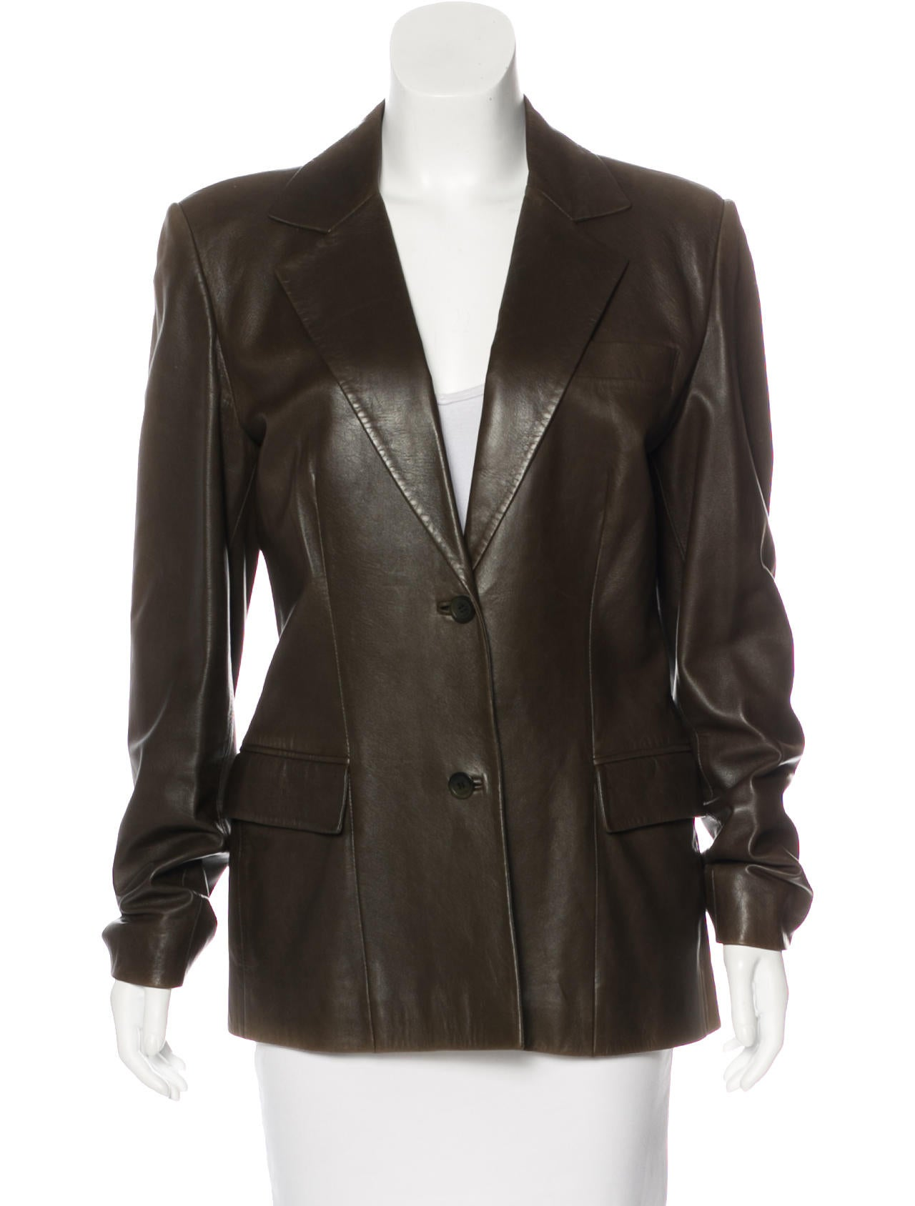 Gucci leather tailored blazer clothing guc161600 the for What is bespoke leather