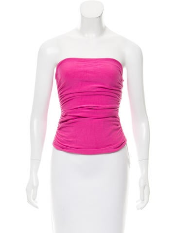 Gucci Gathered Sleeveless Top None