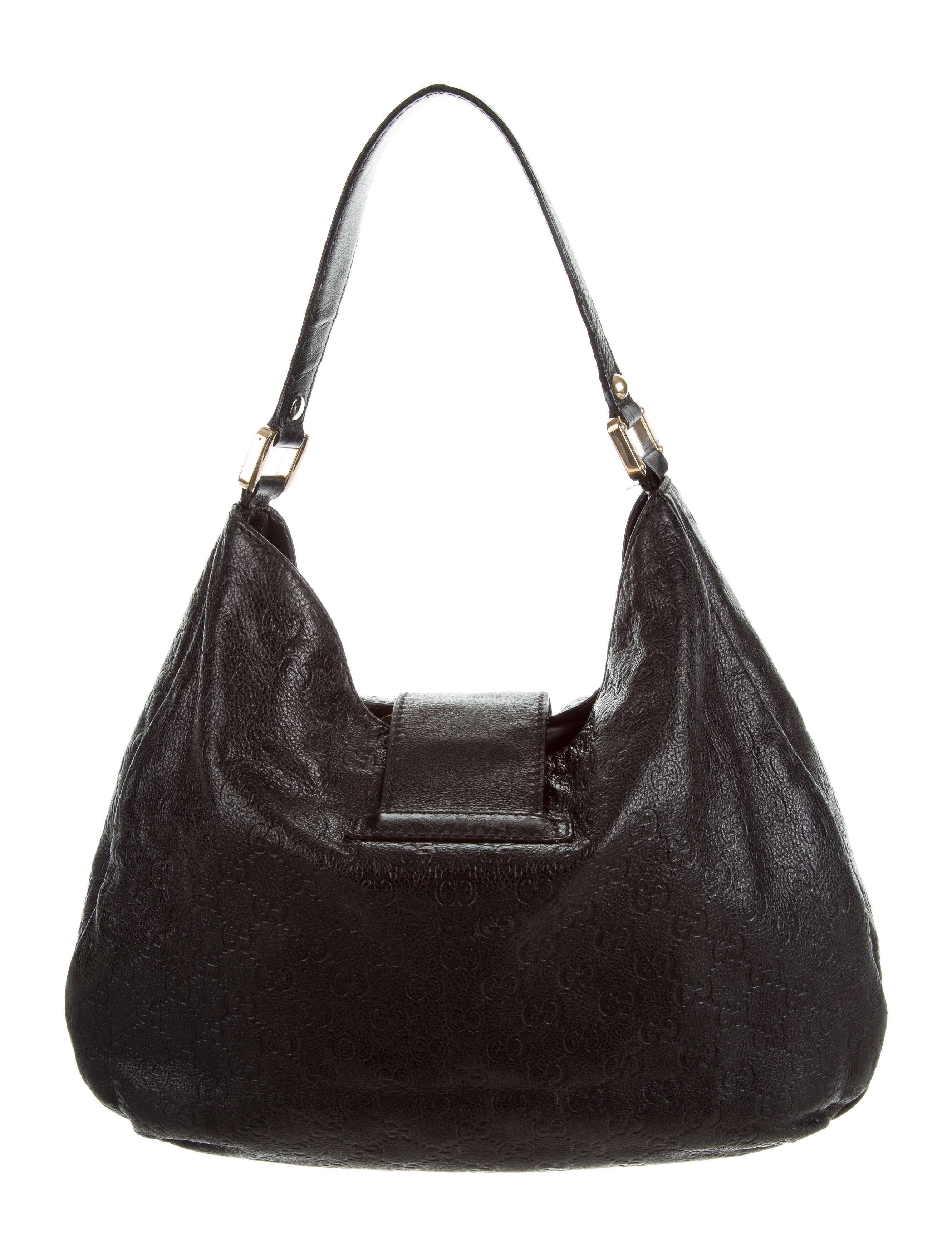 19f5f387db02aa Gucci Guccissima Signature Handbag | Stanford Center for Opportunity ...