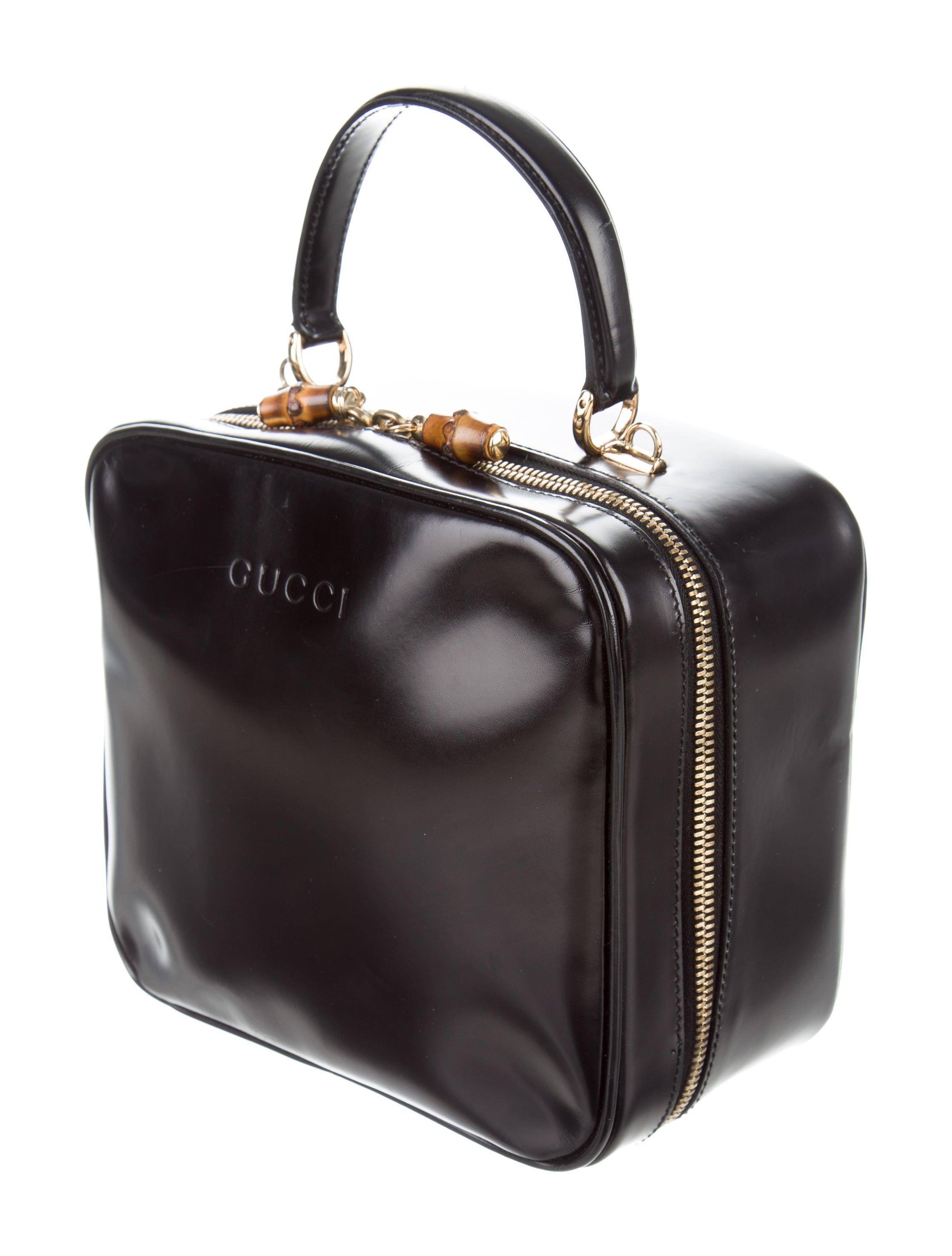 Gucci Vintage Top Handle Bag - Handbags