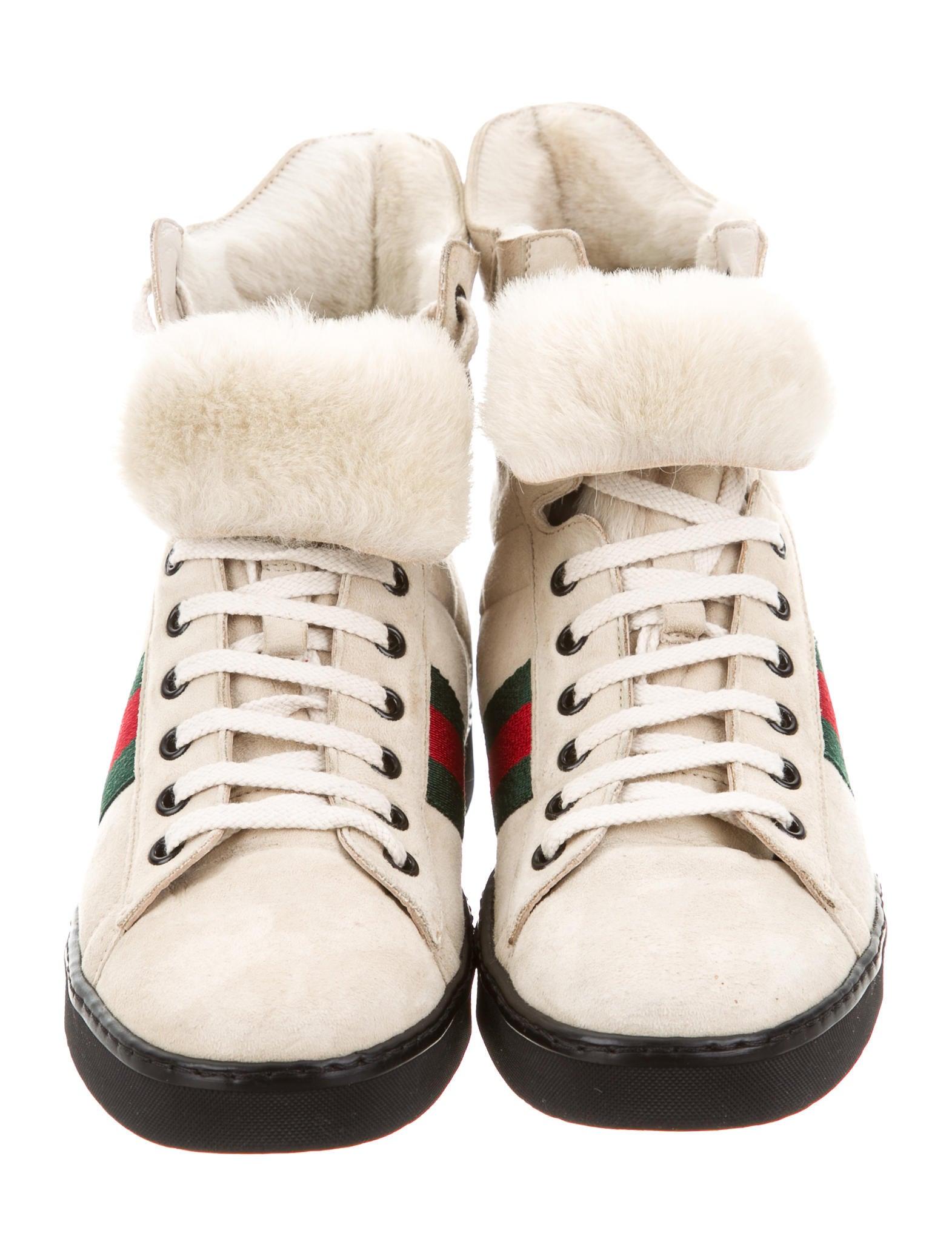 6b66f31fdb2 Gucci Sneakers With Fur