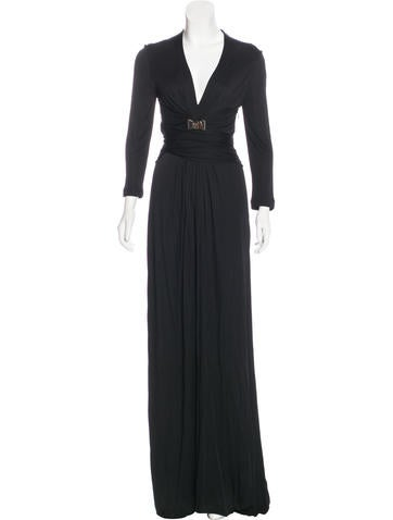 Gucci Embellished Evening Dress None