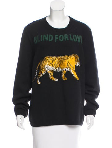 Gucci Blind For Love Tiger Sweater Clothing Guc163278