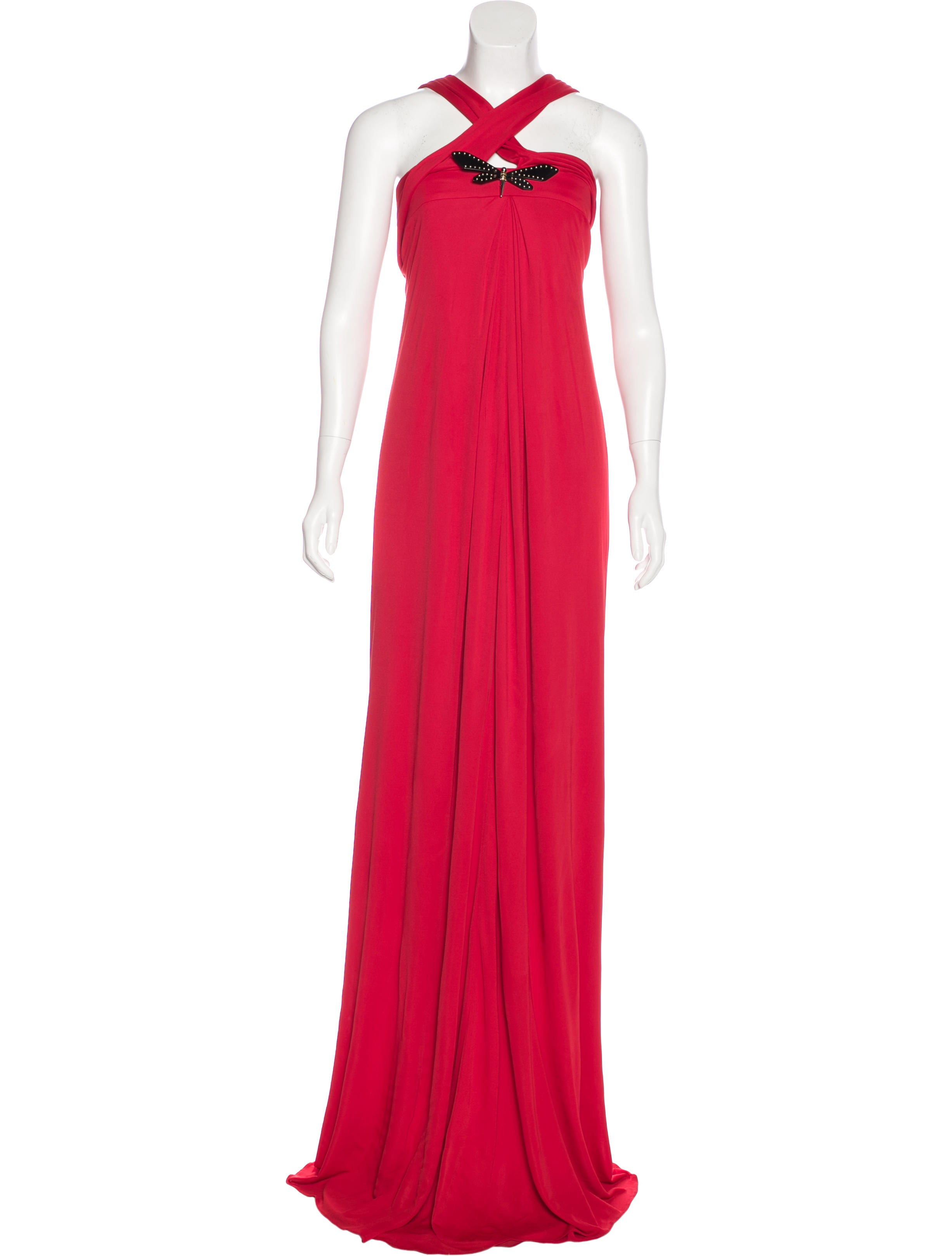 Gucci Embellished Evening Dress - Clothing - GUC163295 | The RealReal