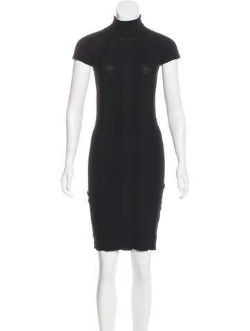 Gucci Wool Knee-Length Dress None