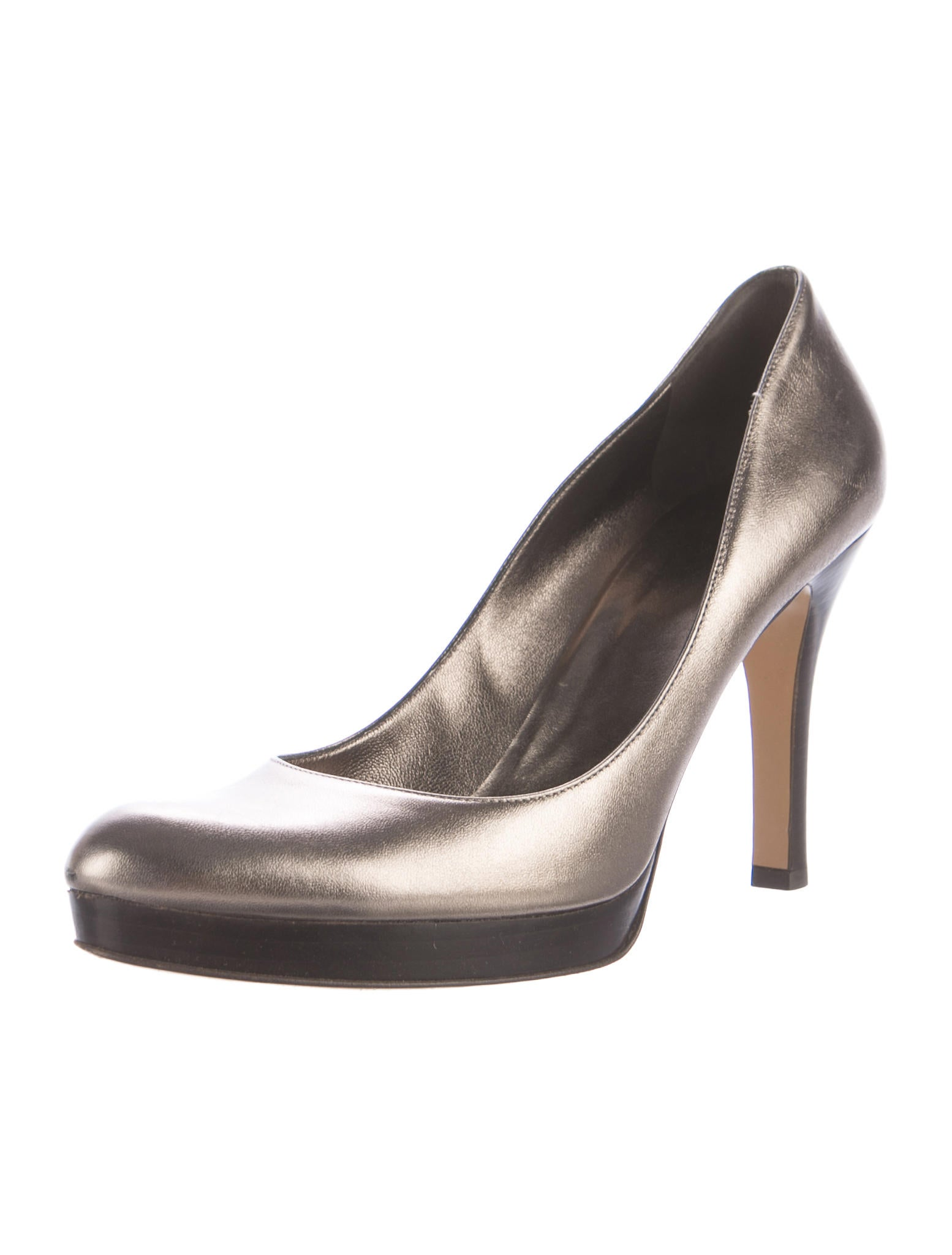 gucci metallic platform pumps shoes guc164379 the