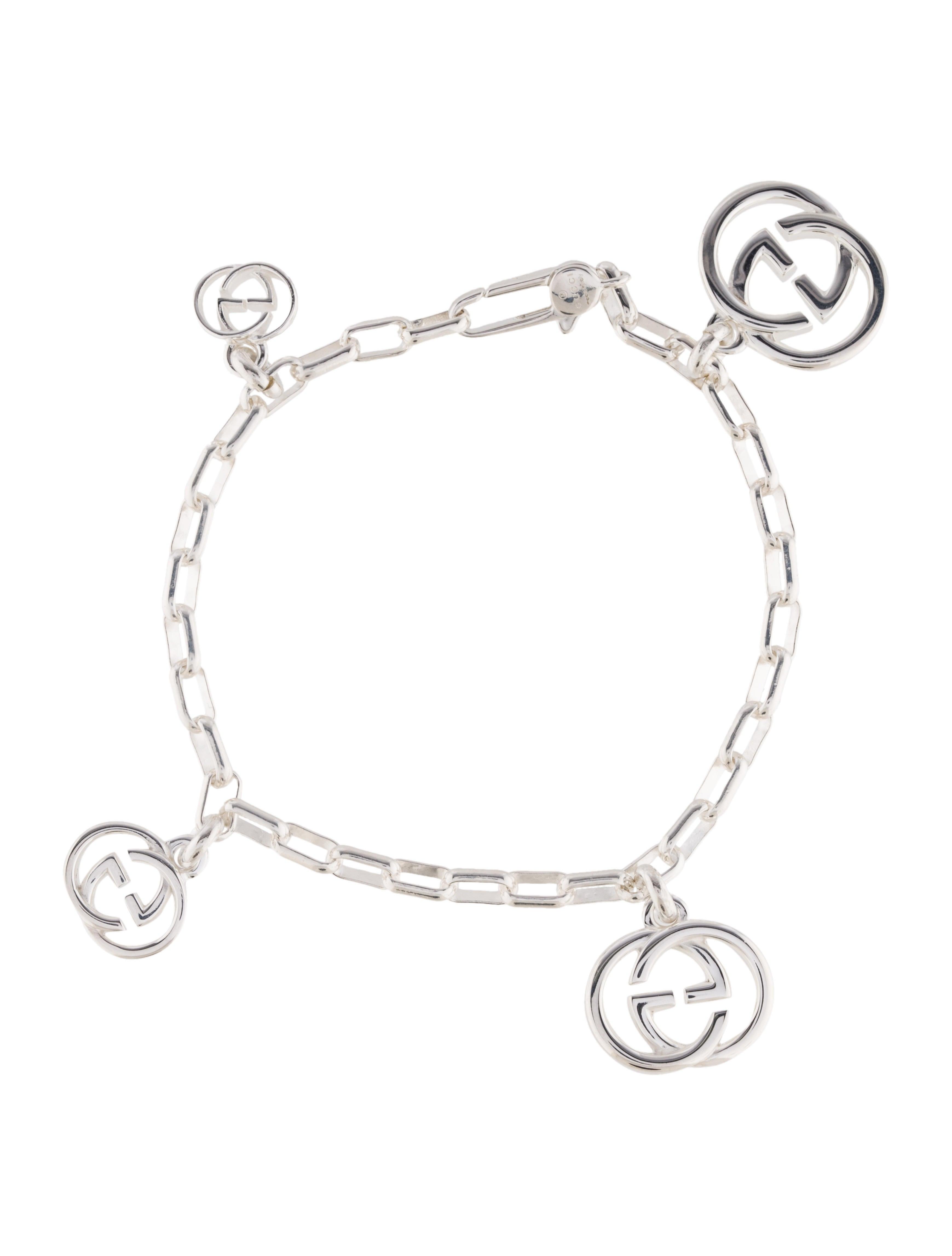ebf355699 Gucci Interlocking G Charm Bracelet - Bracelets - GUC164580 | The ...