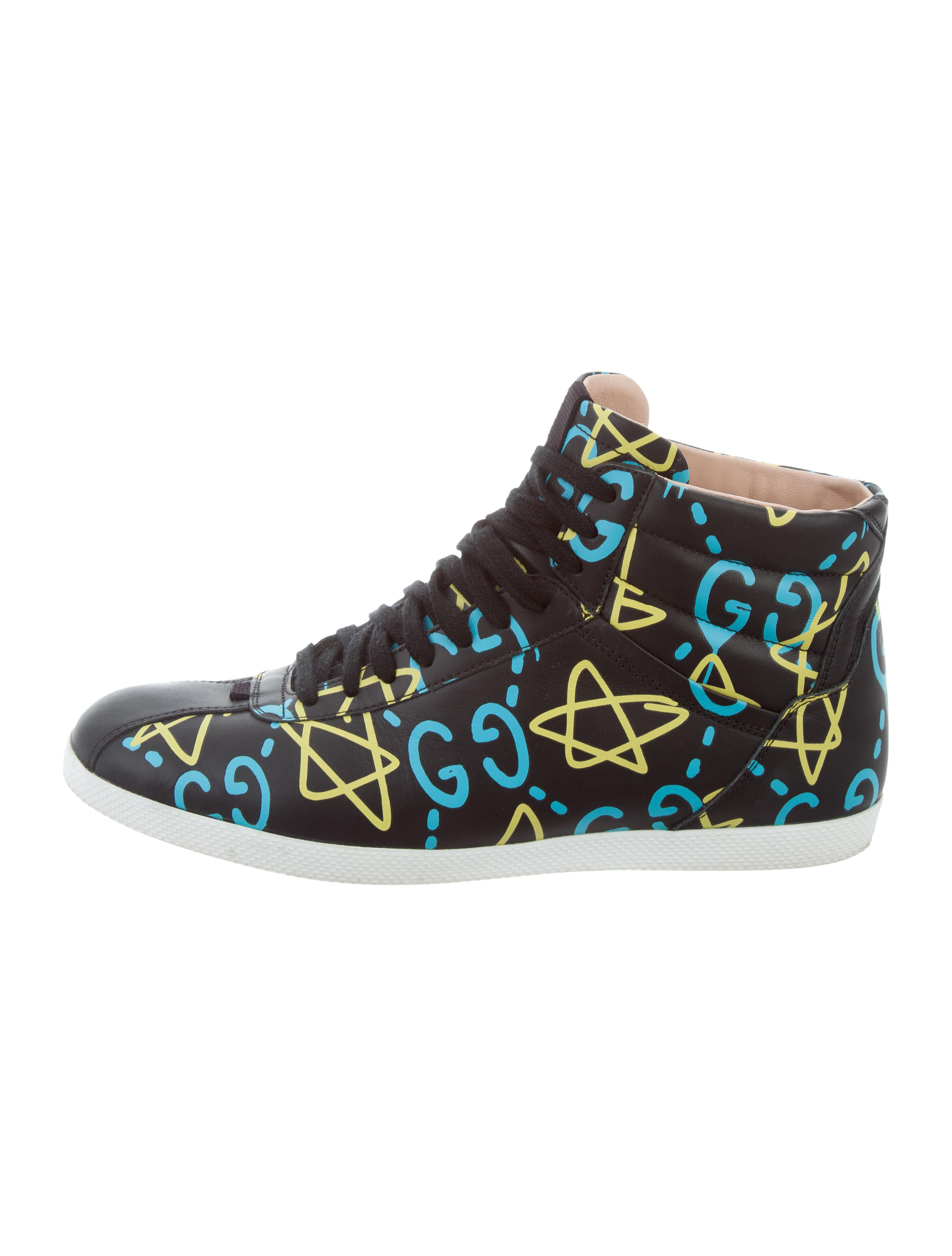 2ed7db3d71c Gucci Leather Gucci Ghost Sneakers - Shoes - GUC165009