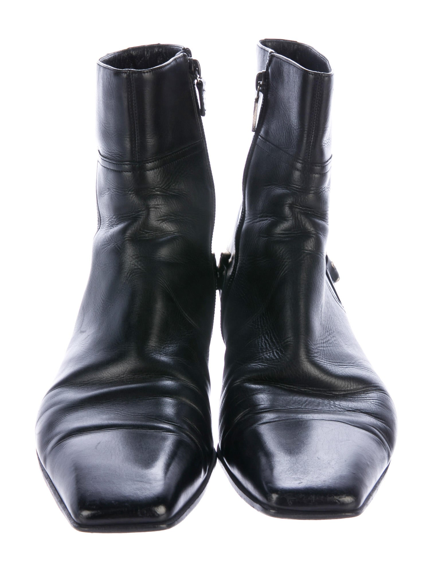 gucci leather horsebit boots shoes guc165309 the