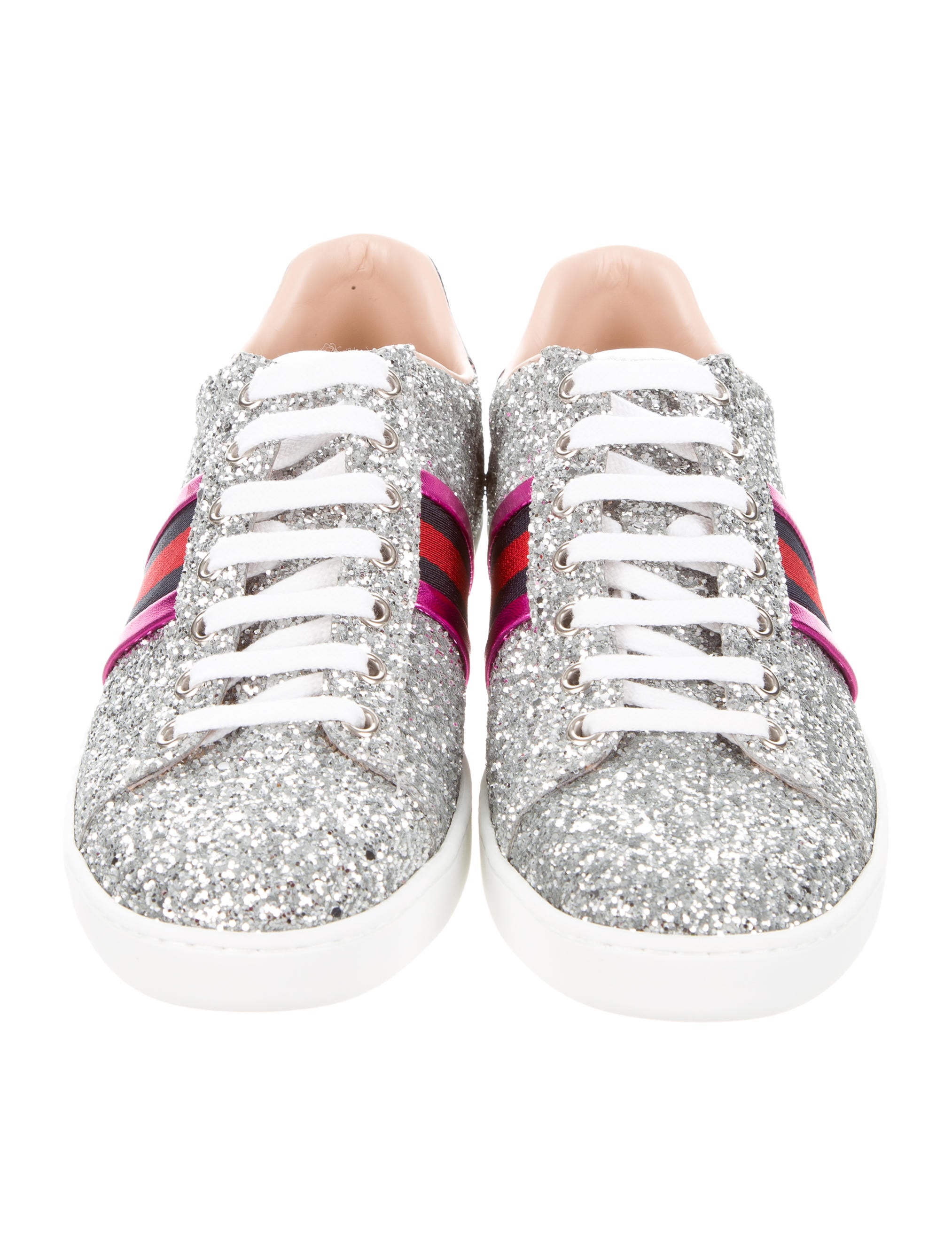 Gucci Ace Glitter Sneakers w/ Tags - Shoes - GUC165607 | The RealReal