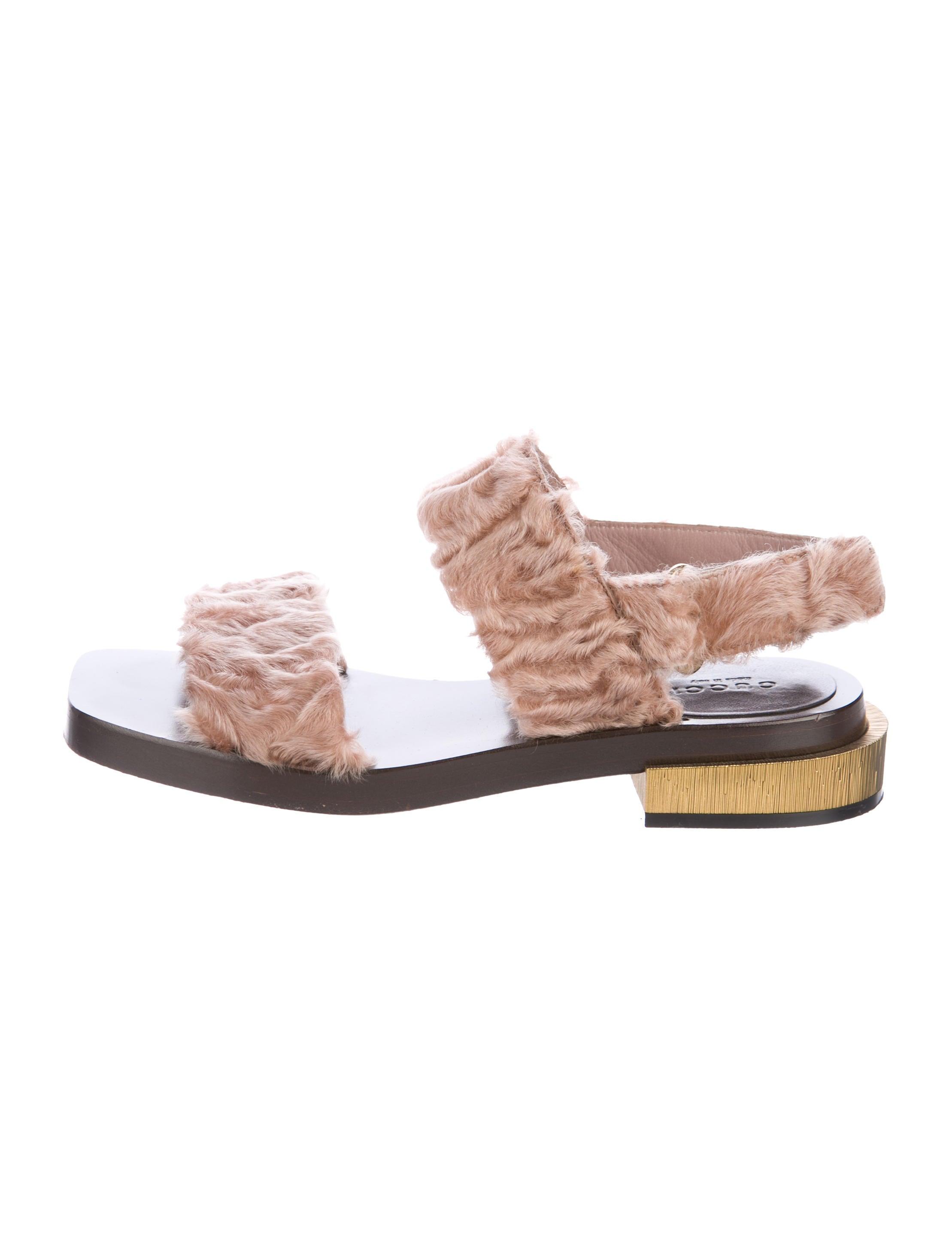 44060af8f Gucci 2017 Querelle Lamb Sandals - Shoes - GUC166079