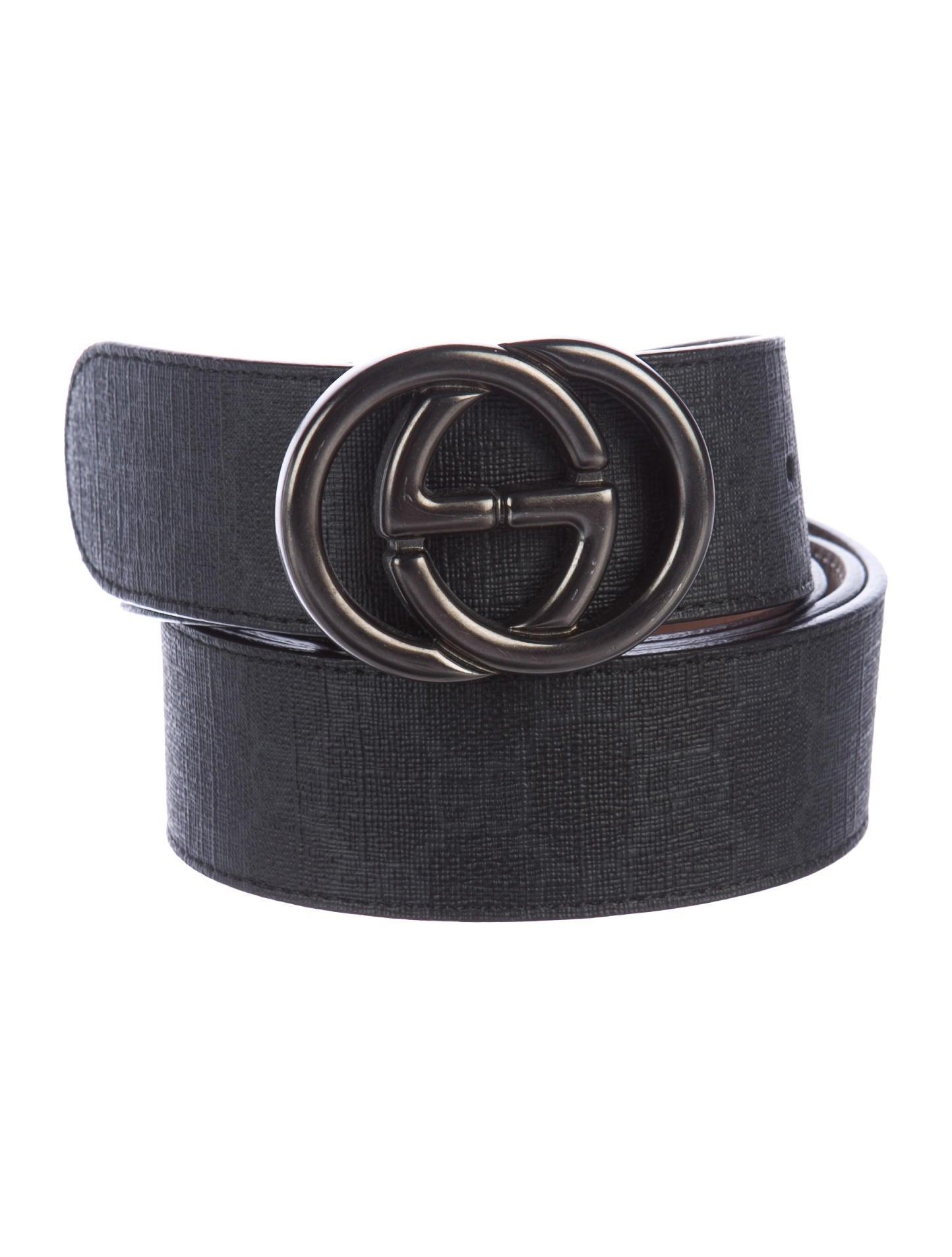 ee19a1afc9a8 Gucci GG Supreme Belt - Accessories - GUC166334