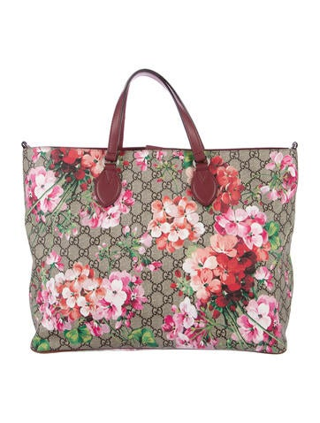 gucci bags on sale cheap. gucci soft gg blooms tote bags on sale cheap
