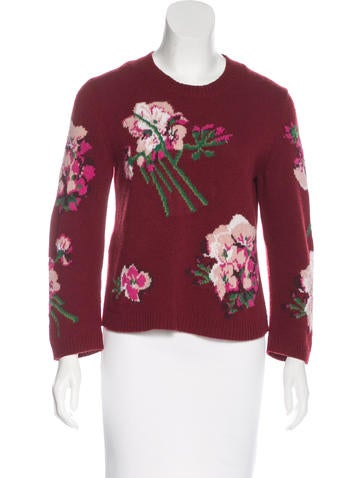 Gucci Blooms Wool Sweater None