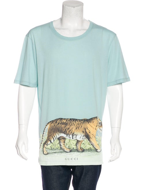 d6ba568e Gucci Walking Tiger-Print T-Shirt - Clothing - GUC167311 | The RealReal