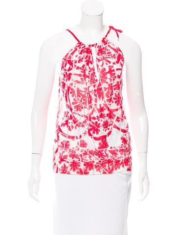 Gucci Sleeveless Printed Top None
