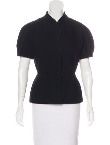Gucci Wool Peplum Top None