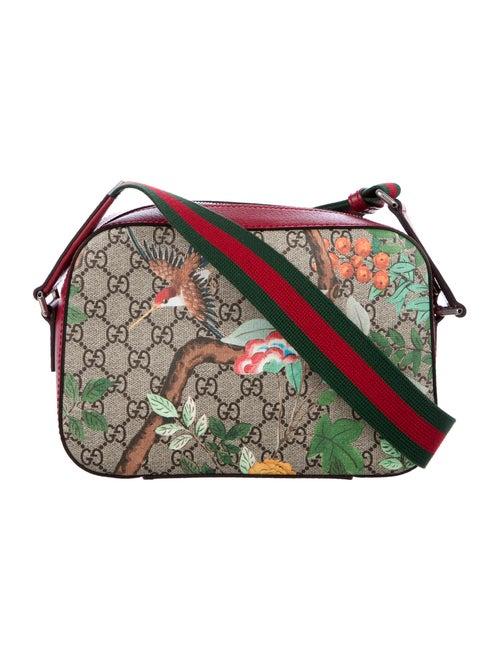 86abb511cd40 Gucci Tian GG Supreme Shoulder Bag - Handbags - GUC167787 | The RealReal