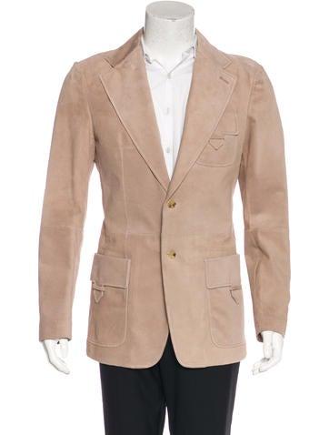 Gucci Notched Lapel Coat None