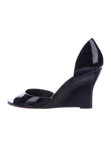 Gucci Wedge d'Orsay Pumps None