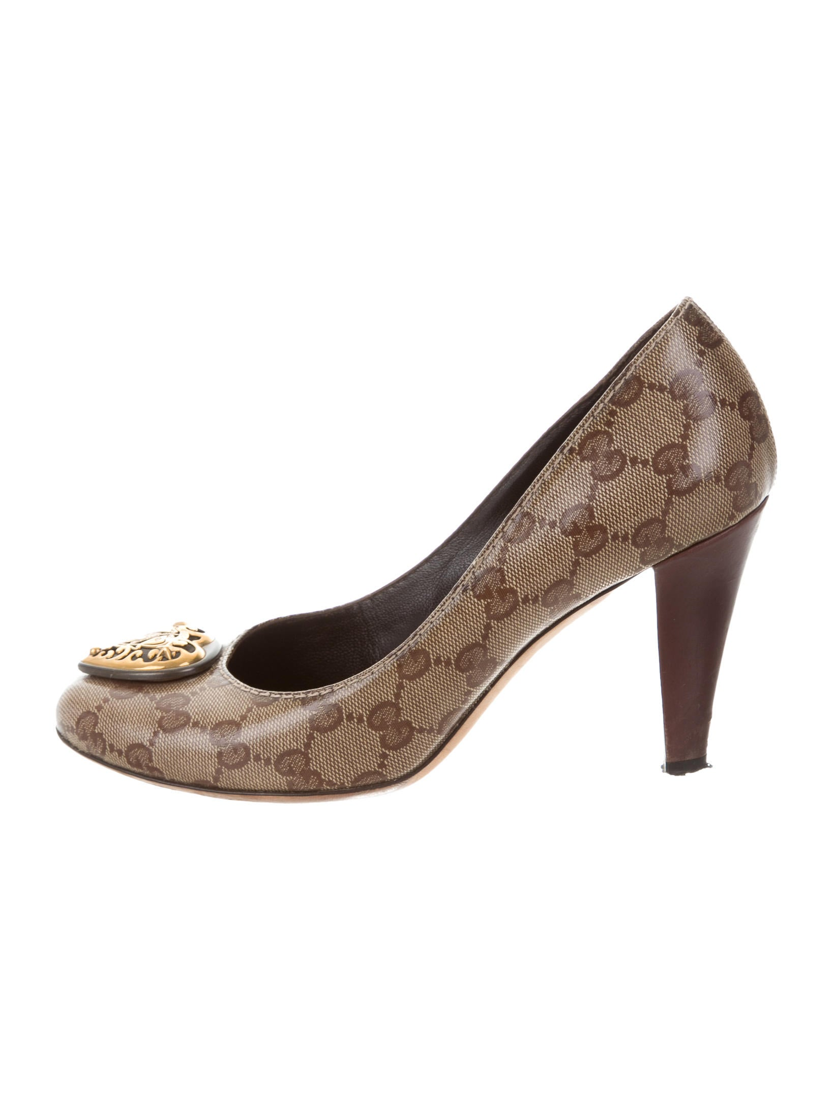 Gucci Guccissima Hysteria Embellished Pumps - Shoes - GUC169598 ... 6402dbcc2f8