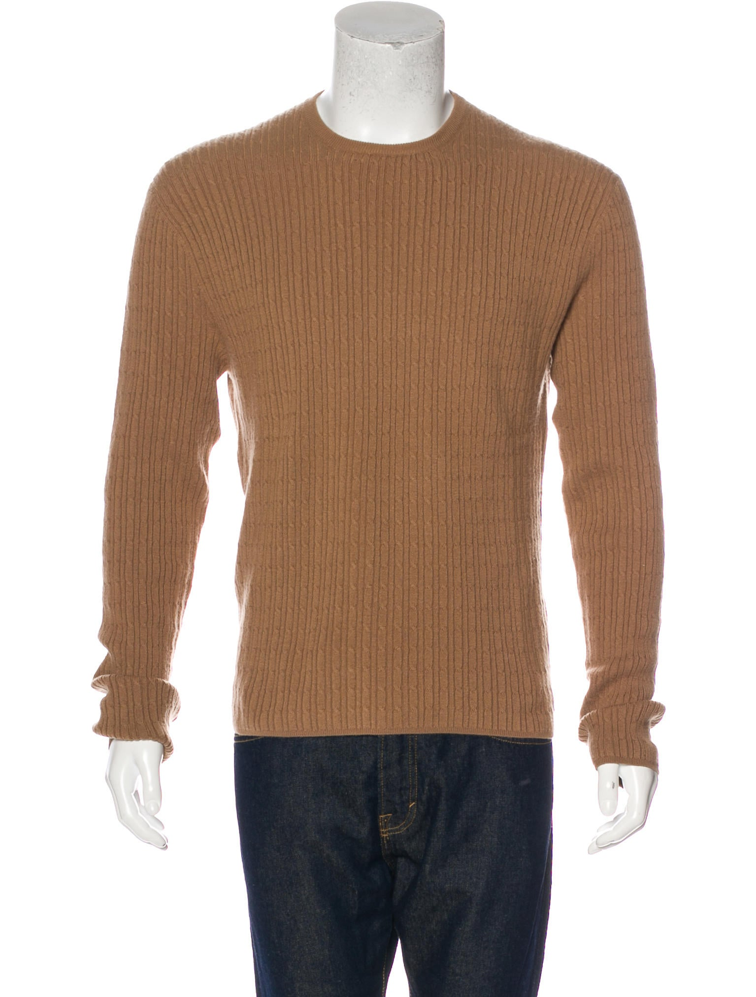 Gucci Cashmere Cable Knit Sweater - Clothing - GUC169745 | The ...